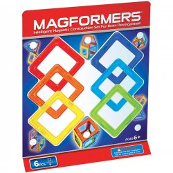 MAGFORMERS 6 (квадраты)