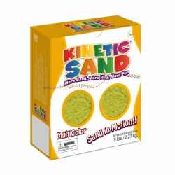 Песок WABA FUN Kinetic Sand (2,27 кг), желтый